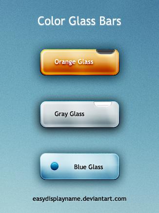 Color Glass Bars by easydisplayname