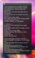 HUD lyrics for CD Art Display by IICubanPeteII