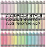 Crayola-style Swatch for PS
