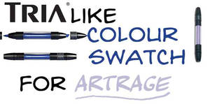 TRIA COLOR SWATCH FOR ARTRAGE by bolsterstone