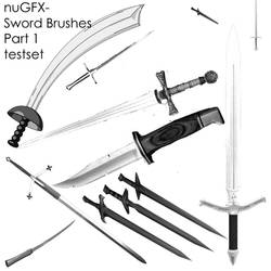 Sword Brushes Part 1 Testset by nuGFX