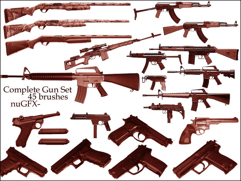 Complete Gun Set by nuGFX