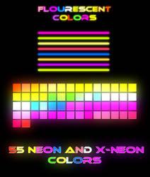 Fluorescent Swatches by Brandondorf9999