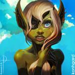 Goblin Beauty [GIF] Update by Konhgard