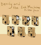 [Bendy and the Ink Machine] Folder Pack
