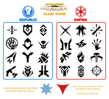 SWTOR Class Icon Pack
