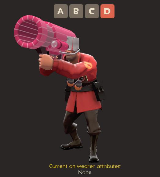 Pinkie Launcher (Tf2) by fullmetaldalek