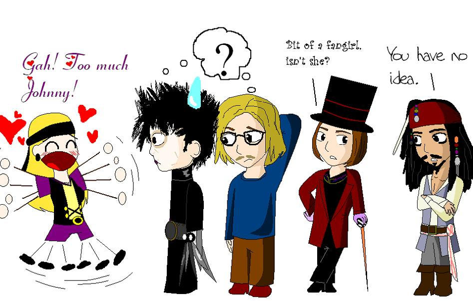 Too Much Johnny by LizzieT - Johnny Depp Fan Clup