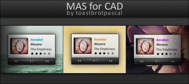 MAS for CAD by toastbrotpascal