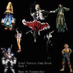 Final Fantasy GIMP Brush Pack 1
