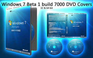 Windows 7 7000 Beta 1 Covers
