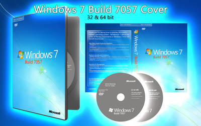 Windows 7 7057 DVD Cover