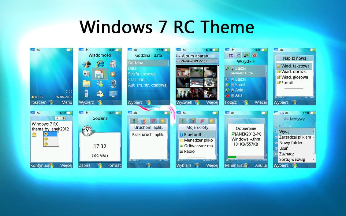 Windows 7 rc theme 240x320 by janek2012 on deviantart for Window 07 themes