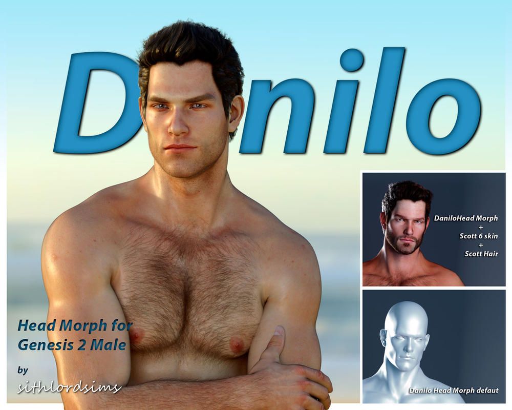 Danilo Head Morph for G2M by sithlordsims