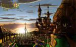 Legends of Equestria:Canterlot Sunset