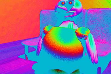 Rainbow Homer Snospis