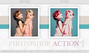 Photoshop action 001 by diamondlightart
