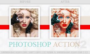 Photoshop action 002 by diamondlightart