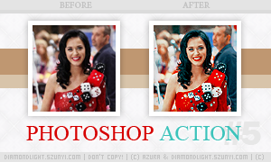 Photoshop action 005 by diamondlightart