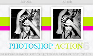Photoshop action 006 by diamondlightart