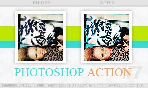 Photoshop action 007 by diamondlightart