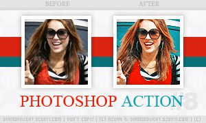 Photoshop action 008 by diamondlightart
