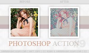Photoshop action 009 by diamondlightart