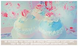 So Delicious psd coloring by diamondlightart