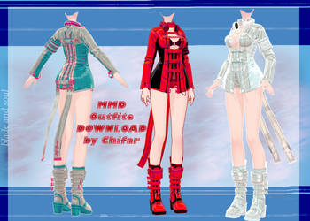 [MMD] Blade and Soul - Outfite - DOWNLOAD
