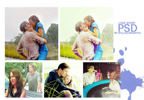 Love story PSD