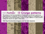 Vector Grunge Patterns