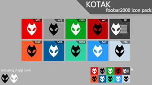 Kotak [foobar2000 icon pack]