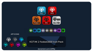 Kotak 2 - foobar2000 icon pack
