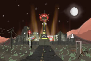 ANIMATED: New Vegas SNES by Dogmeatlives