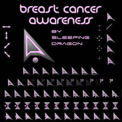 Breast Cancer Awareness Cursor by Sleeping-Dragon