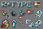 R-type cursor pack by androide5