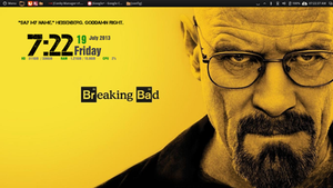 The one who Knocks. Updated Gotham Conky.