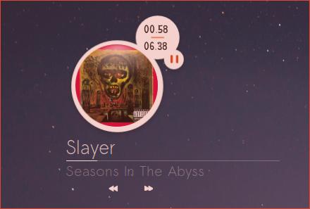 Slayer  White Covergloobus Theme by speedracker