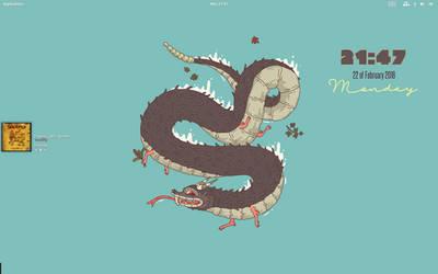 Monster conky. by speedracker