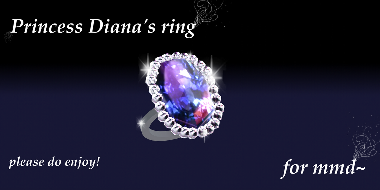 mmd diana ring by Tehrainbowllama