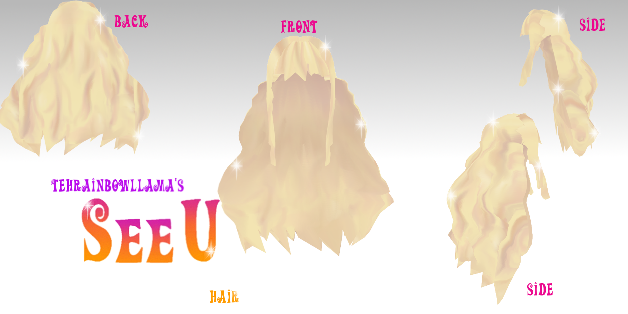 Mmd Blonde Curly Hair Related Keywords Suggestions Mmd Blonde
