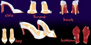mmd Peep Toe-shoes