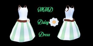 MMD Daisy Dress by Tehrainbowllama