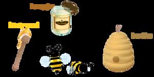 Random Pack 25 : THEMED (bees and honey)