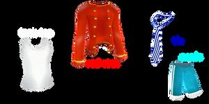Mmd Random Pack 28 THEMED (male clothing)