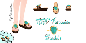 MMD Turquoise Sandals