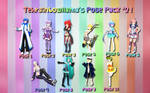 Tehrainbowllama's Pose Pack #2
