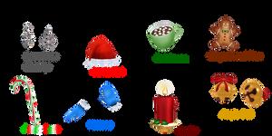 MMD Random Pack #37:THEMED (Winter/Christmas/etc.) by Tehrainbowllama