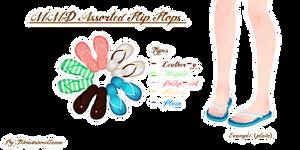 MMD Assorted Flip Flops