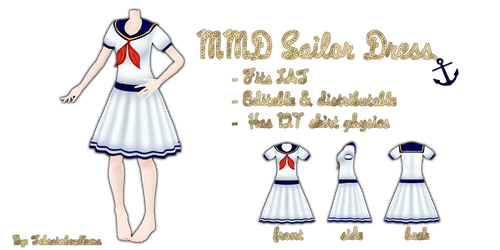MMD Sailor Dress